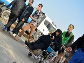 سوگواره سوم-عکس 19-مجید فریدونی-پیاده روی اربعین از نجف تا کربلا
