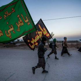 سوگواره پنجم-عکس 7-میلاد عطارد -پیاده روی اربعین از نجف تا کربلا