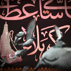 سوگواره چهارم-عکس 44-محمد  آهنگر-پیاده روی اربعین از نجف تا کربلا