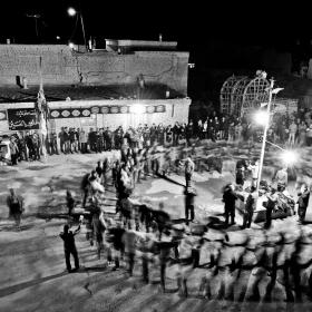 سوگواره دوم-عکس 12-امیر حسین علیداقی-جلسه هیأت فضای بیرونی