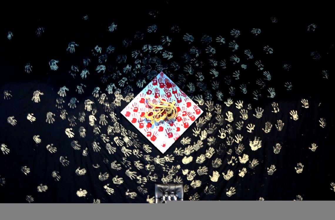 سوگواره چهارم-پوستر 4-محسن هیزجی-دکور هیأت