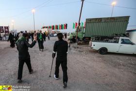 سوگواره سوم-عکس 17-روح اله پورسامانی-پیاده روی اربعین از نجف تا کربلا