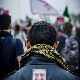 سوگواره سوم-عکس 56-امیر امیدنژاد-پیاده روی اربعین از نجف تا کربلا