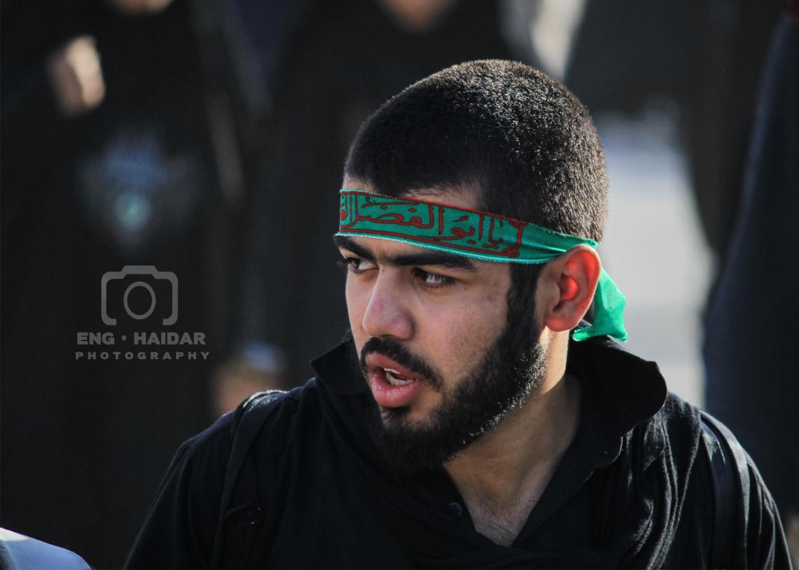 سوگواره سوم-عکس 21-حمید اسماعیل زاده-پیاده روی اربعین از نجف تا کربلا