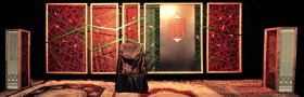 سوگواره چهارم-پوستر 17-امین احمدی-دکور هیأت