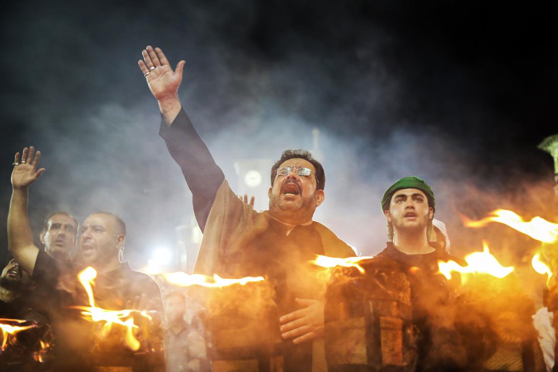 سوگواره چهارم-عکس 11-محمد علی جلالی-آیین های عزاداری