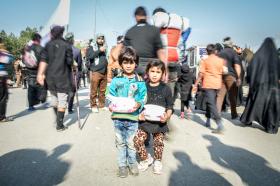 سوگواره چهارم-عکس 22-محمدمهدی فتحی-پیاده روی اربعین از نجف تا کربلا