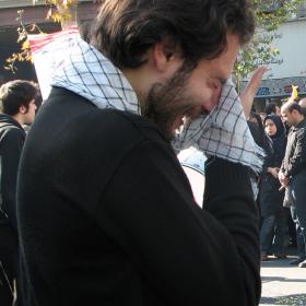 سوگواره چهارم-عکس 16-احمدرضا کریمی-آیین های عزاداری