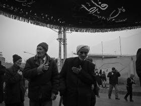 سوگواره سوم-عکس 7-حسین آذر-جلسه هیأت فضای بیرونی