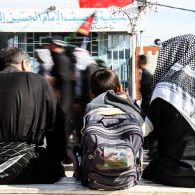سوگواره سوم-عکس 15-حمید اسماعیل زاده-پیاده روی اربعین از نجف تا کربلا