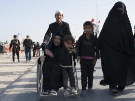 سوگواره پنجم-عکس 121-سید محمد جواد صدری-پیاده روی اربعین از نجف تا کربلا