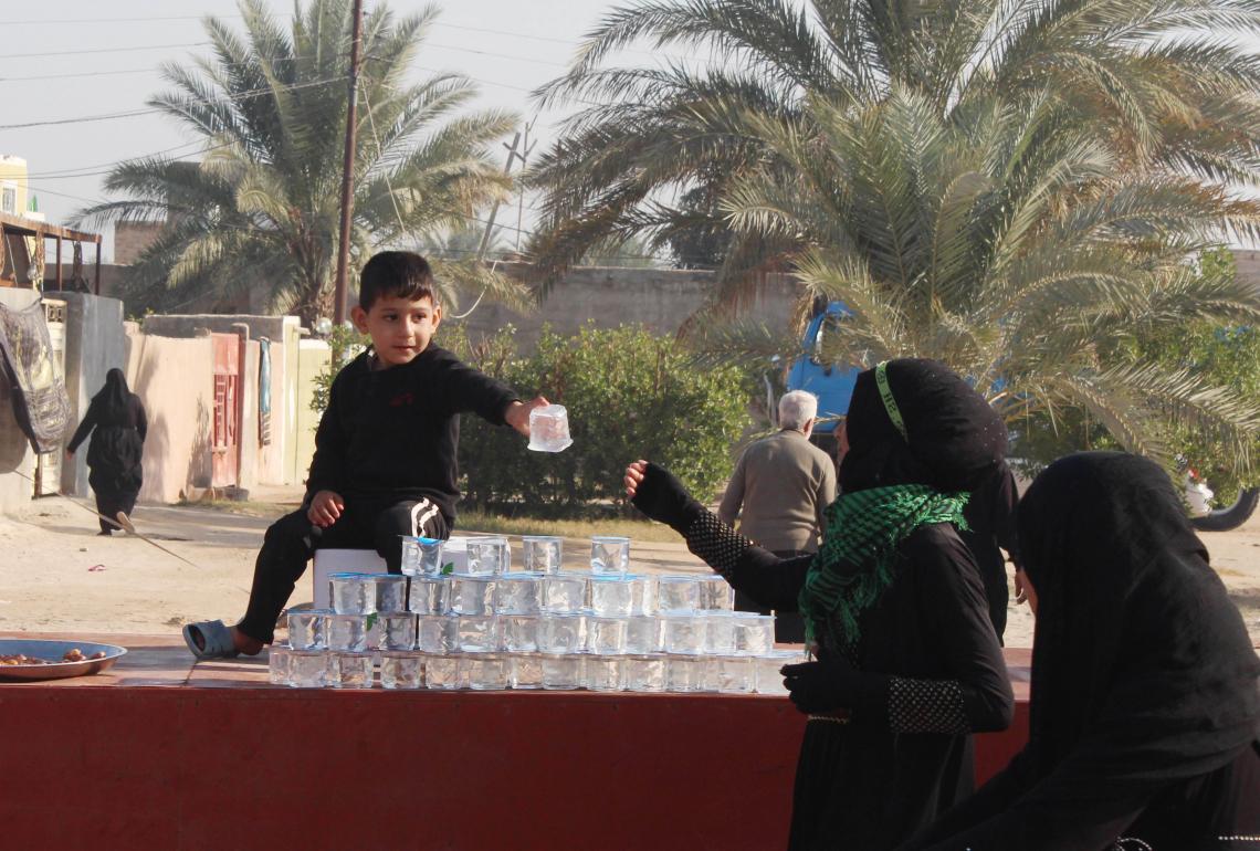 سوگواره سوم-عکس 14-محمد  آهنگر-پیاده روی اربعین از نجف تا کربلا
