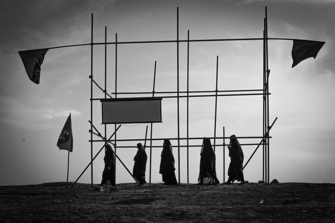 سوگواره پنجم-عکس 5-سید محمد گلشهری-پیاده روی اربعین از نجف تا کربلا