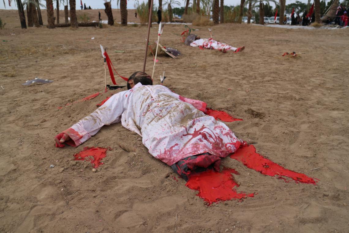 سوگواره سوم-عکس 43-محمد جواد نیکوفرد-آیین های عزاداری