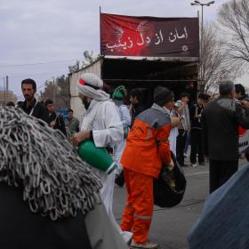 سوگواره سوم-عکس 3-نجمه سادات صالحی-آیین های عزاداری