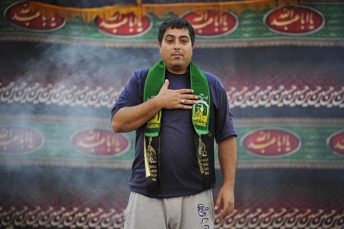 سوگواره پنجم-عکس 21-مسعود محمدی-جلسه هیأت فضای بیرونی