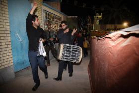 سوگواره سوم-عکس 25-حسین استوار -آیین های عزاداری