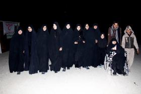 سوگواره سوم-عکس 60-امير رضا فخري-پیاده روی اربعین از نجف تا کربلا