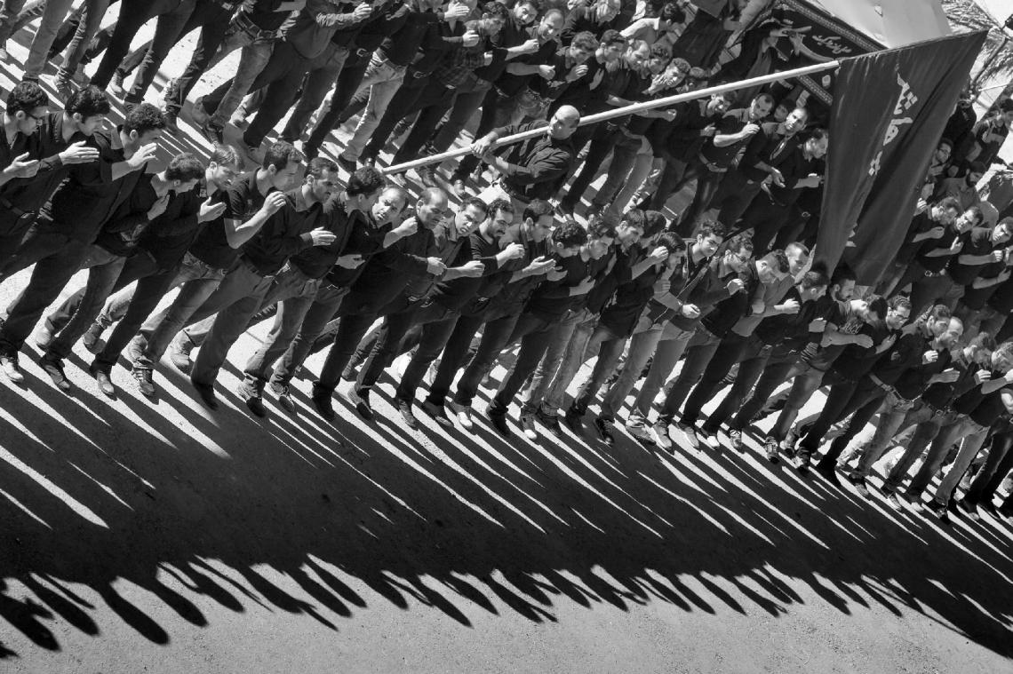 سوگواره چهارم-عکس 9-حسین یونسی-آیین های عزاداری