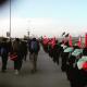 سوگواره چهارم-عکس 7-رقیه آل احمد-پیاده روی اربعین از نجف تا کربلا