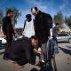 سوگواره سوم-عکس 2-عباس عزیزپور-پیاده روی اربعین از نجف تا کربلا