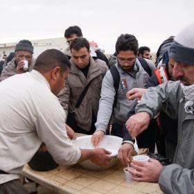 سوگواره سوم-عکس 71-محسن مرادی-پیاده روی اربعین از نجف تا کربلا