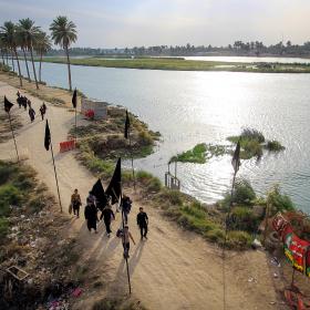 سوگواره پنجم-عکس 61-محمد حسن صلواتی-پیاده روی اربعین از نجف تا کربلا