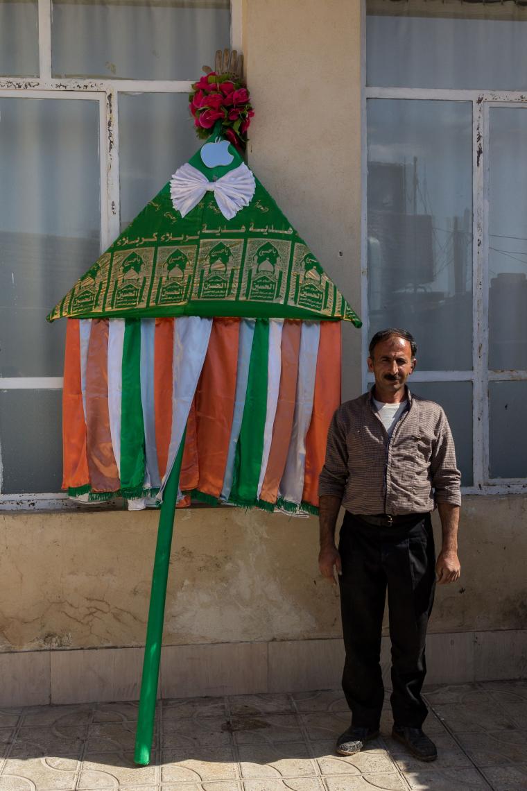 سوگواره پنجم-عکس 17-محمد رضا (امید) آقائی-جلسه هیأت فضای بیرونی