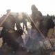 سوگواره دوم-عکس 3-وحید افسری گل دره-پیاده روی اربعین از نجف تا کربلا
