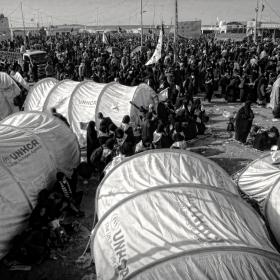 سوگواره سوم-عکس 48-حسین استوار -پیاده روی اربعین از نجف تا کربلا