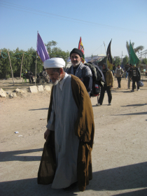 سوگواره دوم-عکس 4-محمد کشاورز-پیاده روی اربعین از نجف تا کربلا