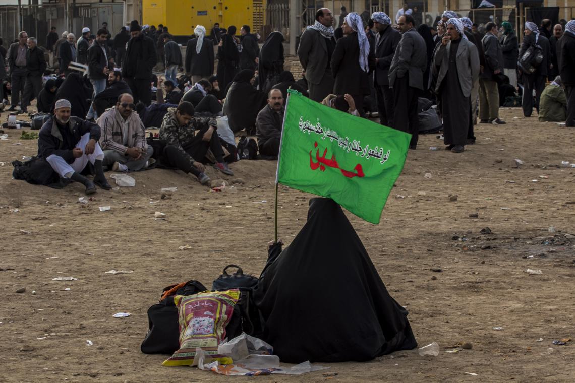 سوگواره دوم-عکس 14-امیر رضا فخری-پیاده روی اربعین از نجف تا کربلا