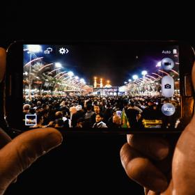 سوگواره پنجم-عکس 9-مرتضی شادور-پیاده روی اربعین از نجف تا کربلا