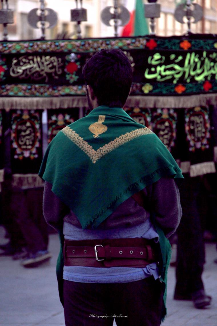 سوگواره سوم-عکس 166-علی ناصری-آیین های عزاداری