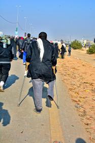 سوگواره سوم-عکس 2- یاسر امیری-پیاده روی اربعین از نجف تا کربلا