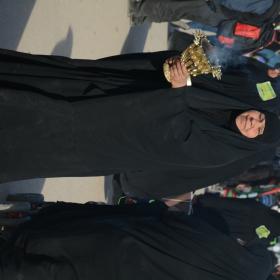سوگواره پنجم-عکس 2-فاطمه عاقل زاده-پیاده روی اربعین از نجف تا کربلا