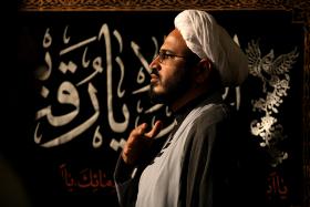 سوگواره پنجم-عکس 68-عبدالحسین بدرلو-جلسه هیأت فضای بیرونی