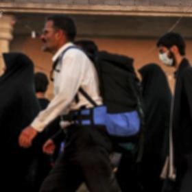 سوگواره سوم-عکس 16-محمدرضا پارساکردآسیابی-پیاده روی اربعین از نجف تا کربلا