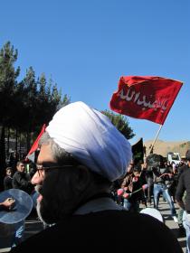 سوگواره دوم-عکس 1-سیروس پیرویسی-پیاده روی اربعین از نجف تا کربلا