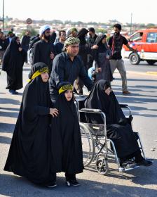 سوگواره پنجم-عکس 10-سعید عبدلی زاده-پیاده روی اربعین از نجف تا کربلا