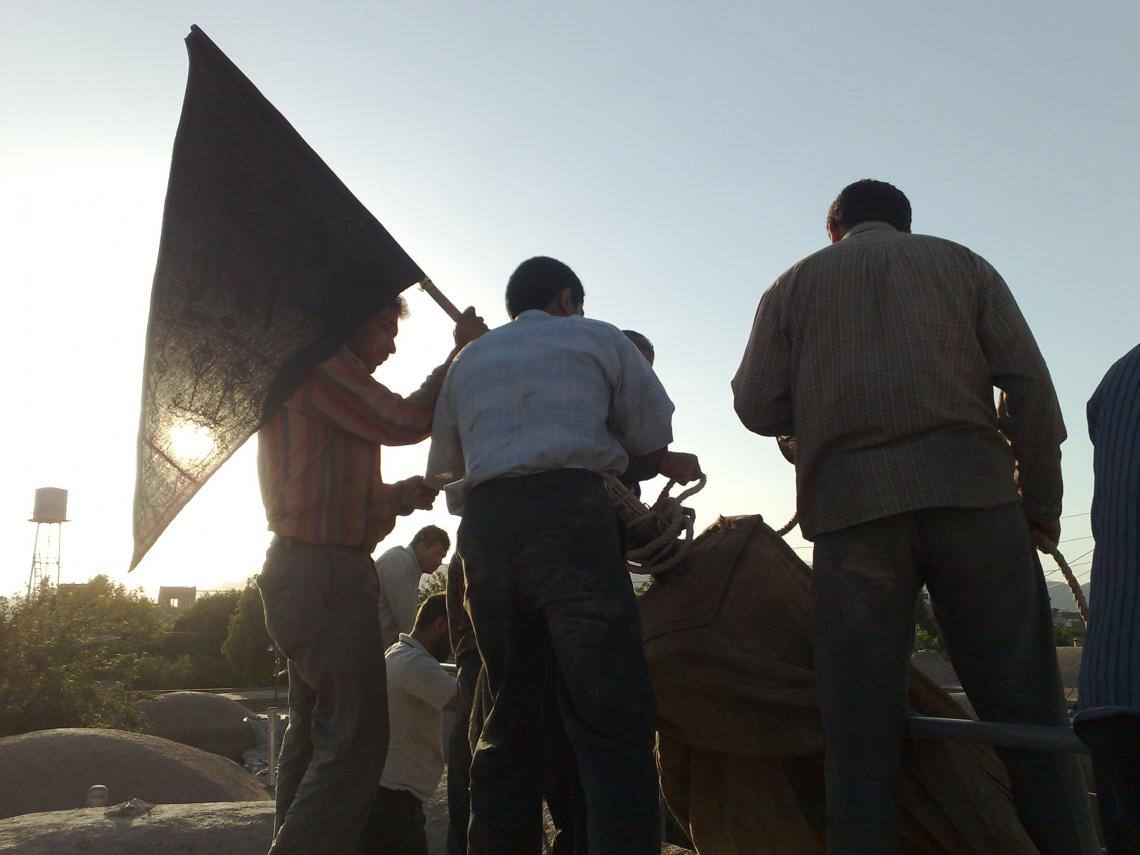 سوگواره پنجم-عکس 109-حسین رضائی سردره-جلسه هیأت