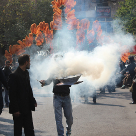 سوگواره چهارم-عکس 69-احمدرضا کریمی-آیین های عزاداری