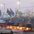 سوگواره سوم-عکس 8-محمدرضا زندشهری قمی-پیاده روی اربعین از نجف تا کربلا