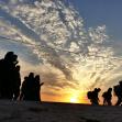 سوگواره پنجم-عکس 3-حمیدرضا مرادی-پیاده روی اربعین از نجف تا کربلا