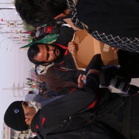 سوگواره پنجم-عکس 11-سعید ابراهیمی نهزمی -پیاده روی اربعین از نجف تا کربلا