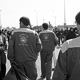 سوگواره چهارم-عکس 46-سید مصطفی عطاری-پیاده روی اربعین از نجف تا کربلا