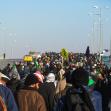 سوگواره چهارم-عکس 60-احمد قارداش پور طرقی-پیاده روی اربعین از نجف تا کربلا