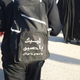 سوگواره دوم-عکس 5-علی محمودی راد-پیاده روی اربعین از نجف تا کربلا