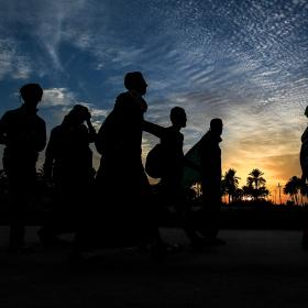 سوگواره پنجم-عکس 56-محمد حسن صلواتی-پیاده روی اربعین از نجف تا کربلا