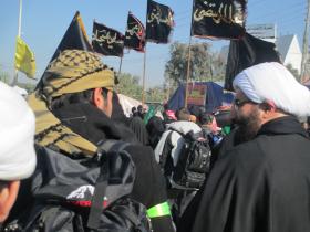 سوگواره دوم-عکس 4-ابوذر کمال-پیاده روی اربعین از نجف تا کربلا